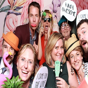 orporate photo booth